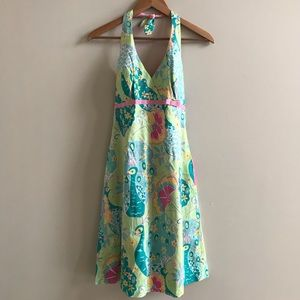 Lilly Pulitzer Southern Belle Print Halter Dress